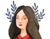 Self portrait/new social media icon