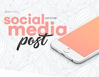 Social Media - LAN CLOSET