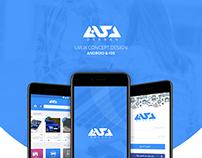 DKKAAN App Design