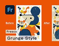 Fresco Grunge Style