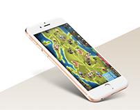 Economic strategy game UI design