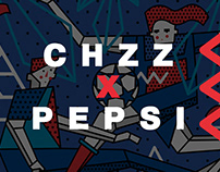 CHZZ X PEPSI. UEFA CHAMPIONS LEAGUE FINAL. KYIV 2018