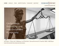 Website Schneider + Partner