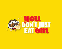 Pringles 'You don't just eat 'em'