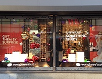 Sunglass Hut - Holiday 2014 Macy's Herald Sq Windows