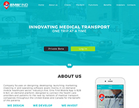 Website for EMSFInd Medical transportation on demand