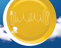 Lavish Dine Print ad