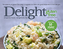 Delight Gluten-Free Magazine March | April 2014