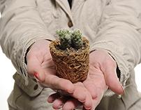 Vaso de Plantas Biodegradável