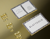Blattgold Vegan Corporate Design