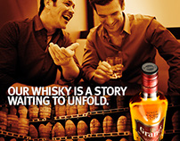 Campaign that grew Grant's to world #3 whisky.