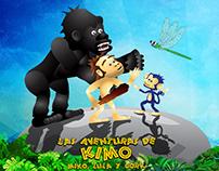"""Interactivo """"Las Aventuras de KIMO, MIKO, LULA Y GORK"""""""