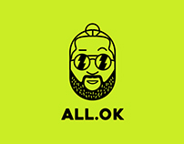 ALL.OK - Musician Branding | Logo Design