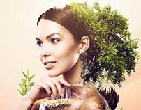 Belleza inspirada en la naturaleza | Tezblanc