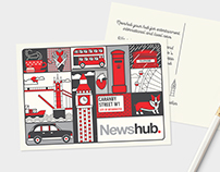 NEWSHUB POSTCARD