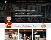 Coffee Shop UI Concept & Design