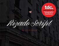 Rizado Script Font