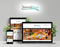 NaturalShop with cosmetics