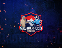BROTHERHOOD BIKERS/Mascot logo design