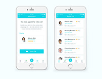 Doctor Appointment App UI Exploration