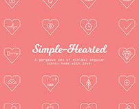 Simple-Hearted Icon Collection