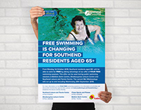 Swimming poster: Southend BC