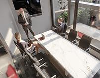 Unreal Engine 4 - Project offices - Archviz Interior