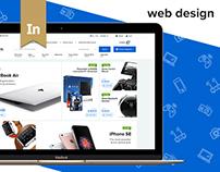 GCCDS - Ecommerce Web, UI/UX Design