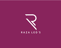 "Raza Led""s logo Design"