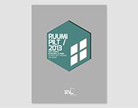 Editorial and exhibition design for Ruumipilt 2013
