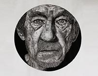 Pontilhismo - Ian McKellen