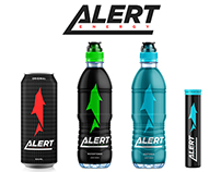 ALERT ENERGY - Packaging design