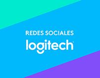 Redes sociales: Logitech