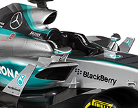 2017 F1 Mercedes W08 preview - Creation Process
