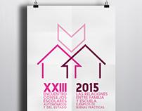 Propuesta logo-cartel: Encuentro de Consejos Escolares