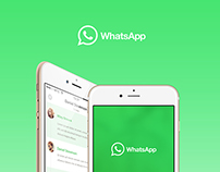 WhatsApp UI Concept