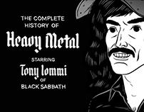 Tony Iommi: History Of Metal