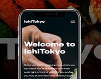 IchiTokyo - Sushi Restaurant Website