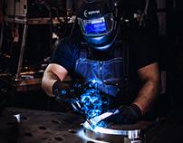 "Production Process Photoshoot ""LED Head"""