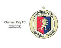 CHENNAI CITY FC - Identity redesign