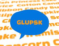 Glupsk — A Typeface