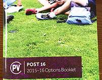 Pent Valley Sixth Form Booklet - Print Design