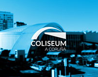 Coliseum A Coruña Rebrand