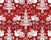 Scandinavian Winter Pattern
