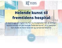 Nyt Hospital Nordsjælland website