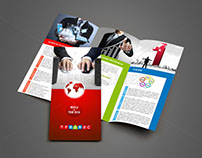 Tri-Fold Brochure Design for TFB2B2C Company