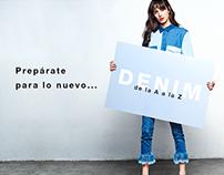 Campaña digital: Jeans 2016
