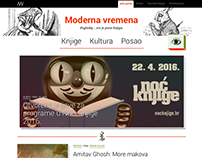 Moderna vremena Website