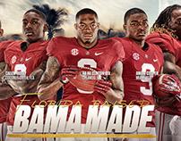 Alabama Football Graphics 2016