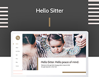 Hello Sitter Website Redesign